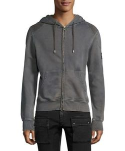 Belstaff   Blackenham Hooded Fleece Sweatshirt