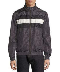 Bally | Hooded Leather Blouson Jacket
