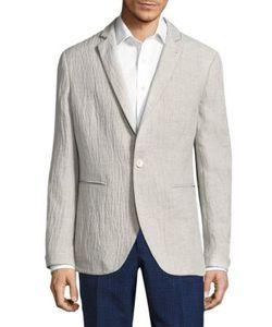 John Varvatos | Textured Slim Fit Blazer