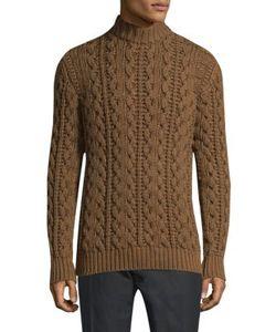 Salvatore Ferragamo   Long-Sleeve Wool Sweater