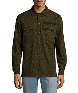 Ovadia & Sons | Leopard Casual Button Down Shirt