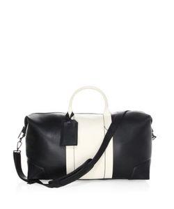 Uri Minkoff | Two-Tone Leather Weekender Bag