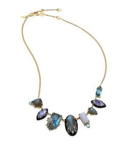 Alexis Bittar | Elements Multi-Stone Spider Bib Necklace