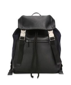 Saks Fifth Avenue Collection | Mixed Media Backpack