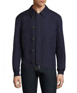 Salvatore Ferragamo | Silk Blend Blouson Jacket