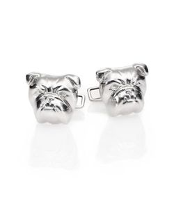 Dunhill | Bull Dog Sterling Cuff Links