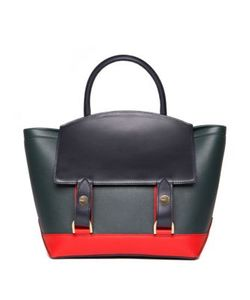 Sacai | Hybrid Medium Colorblock Leather Tote