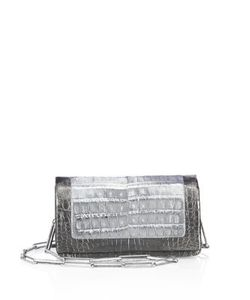 Nancy Gonzalez | Mini Crocodile Leather Crossbody Clutch
