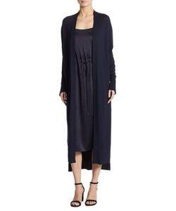DKNY   Silk-Blend Open-Front Cardigan