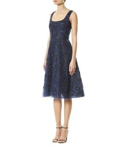 Carolina Herrera | Sequin Embroidered Dress