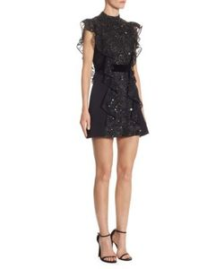 J. Mendel | Embroidered Silk Dress