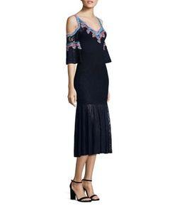 Peter Pilotto | Lace Jacquard Knit Dress