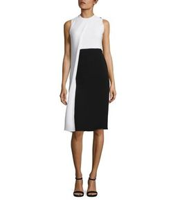 Derek Lam | Silk Colorblock Dress