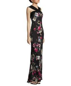 Roberto Cavalli | Halterneck Jersey Gown