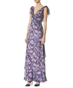 Carolina Herrera | -Print Silk Gown