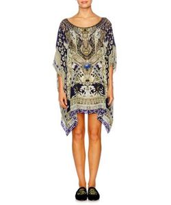Camilla | Chinese Whispers Short Silk Caftan