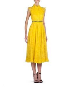 Erdem | Reba Tulle Lace Dress