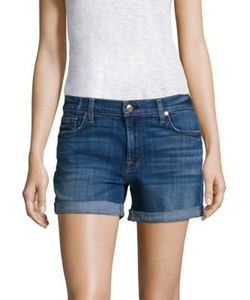7 For All Mankind | Relaxed Rolled Shorts