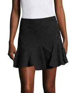 Derek Lam 10 Crosby   Fla Lace-Up Mini Skirt