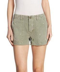 Amo | Army Canvas Shorts
