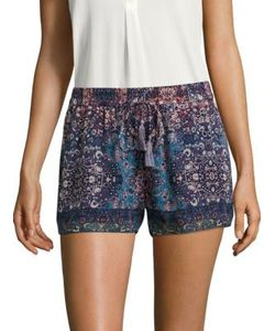 Joie | Lindee Constellation-Printed Silk Shorts