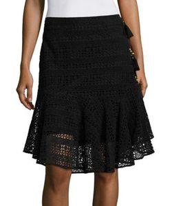 Figue   Marina Cotton Lace Skirt