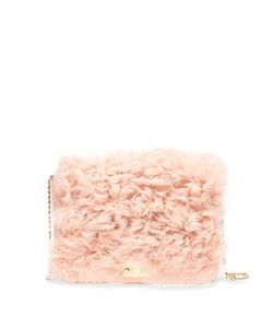 Loeffler Randall | Lock Shearling Chain Shoulder Bag