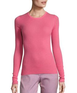 Michael Kors Collection | Long Sleeve Cashmere Pullover