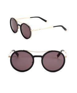 Max Mara | Oblo 49mm Round Sunglasses