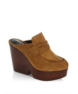 Robert Clergerie | Damor Suede Clogs