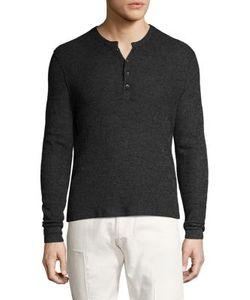 Ovadia & Sons | Zack Waffle Knit Merino Wool Sweater