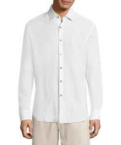 Vilebrequin | Seersucker Striped Shirt