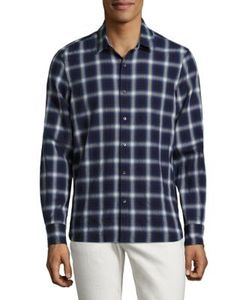 Ovadia & Sons | Max Plaid Cotton Shirt