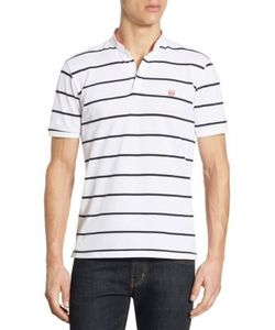 The Kooples   Striped Short Sleeve Polo