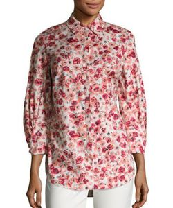 Lela Rose | Button Front Shirt