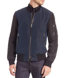 Ovadia & Sons | Two-Tone Bomber Jacket