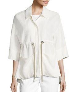 Piazza Sempione | Linen Safari Jacket