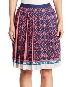 Mary Katrantzou   Mighty Pleated Knit Skirt