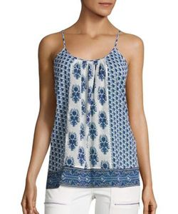 Joie | Soft Sparkle C Print Tank Top