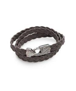 Stephen Webster   Braided Leather Bracelet