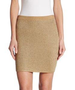 Ralph Lauren Collection | Knit Mini Skirt
