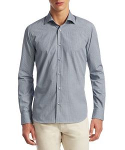 Saks Fifth Avenue | Collection Classic Sport Fit Cotton Button-Down Shirt