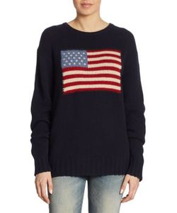 Ralph Lauren Collection | Flag Cashmere Sweater