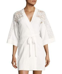 In Bloom   Lace Wrap Robe