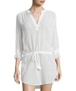 Heidi Klein | Smocked Cotton Tunic
