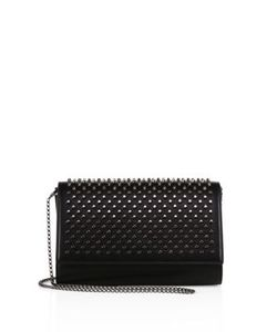 CHRISTIAN LOUBOUTIN | Paloma Leather Clutch