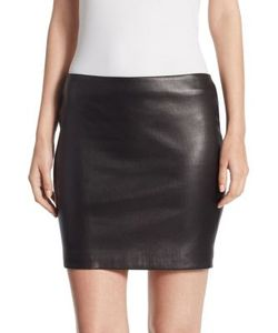 The Row | Loattan Leather Skirt