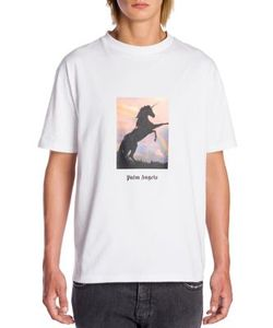 Palm Angels | Unicorn Graphic Printed Tee