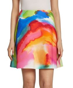 Ralph Lauren Collection | Corinne Splash-Print Skirt