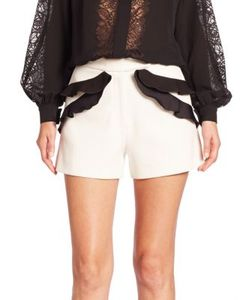 Elie Saab | Ruffled Shorts